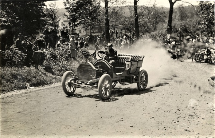 Easton 1909 lorimar no 28 chalmers detroit hill climb