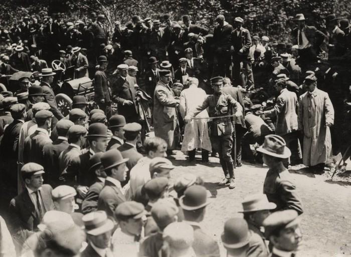 Easton HSE 1909 injured spectator