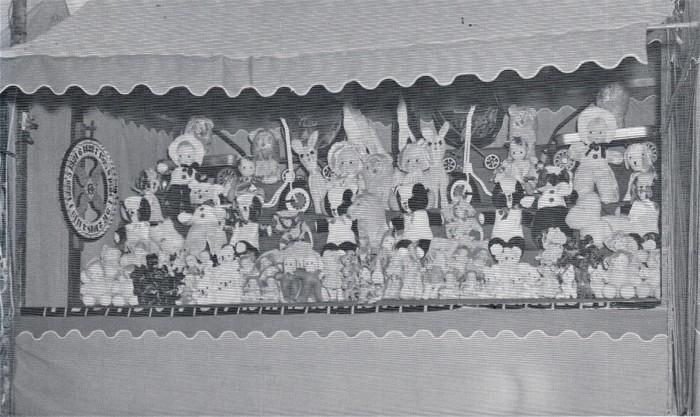 Easton HSE 1940s Fireman Carnival Booth (2)