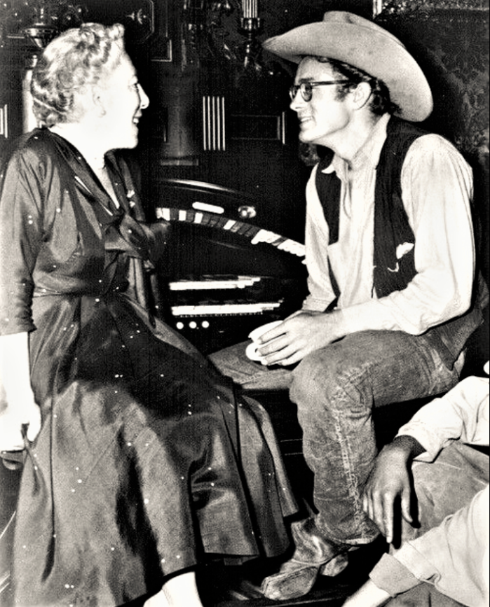 Easton HSE 1955 Edna Ferber with James Dean