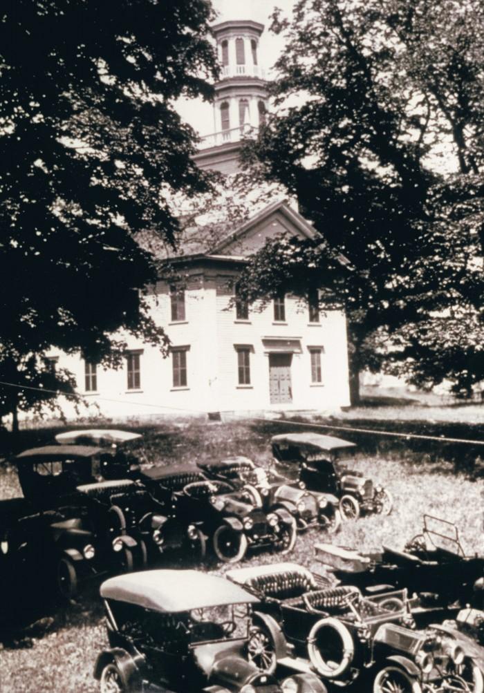 Easton HSE Congregational Church C 1916