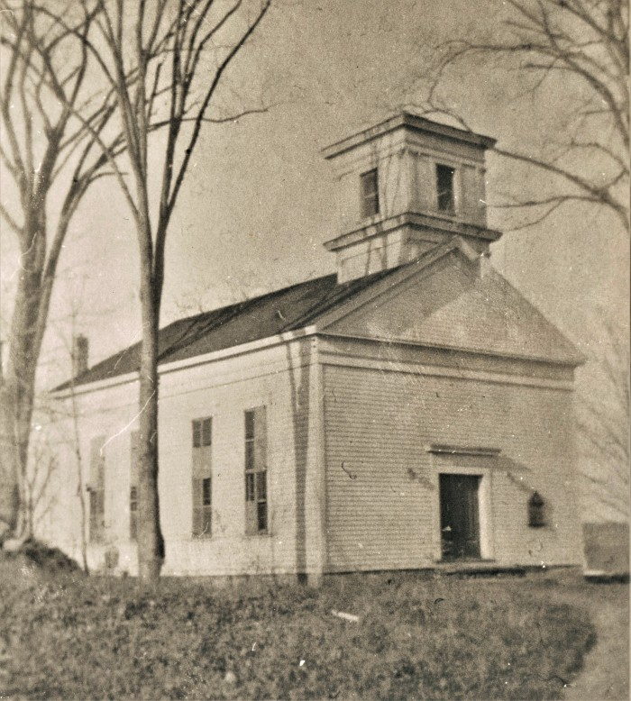 Easton HSE Methodist Church Redding Rd before 1948