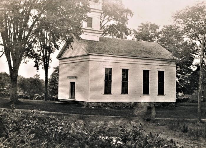 Easton HSE Methodist Church Redding Road & West until 1948