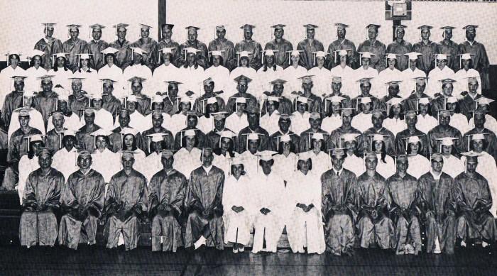 Easton HSE S46 Barlow Graduation 1965