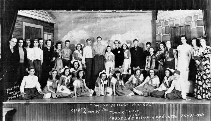 Jesse Lee Methodist Junior Choir 1941