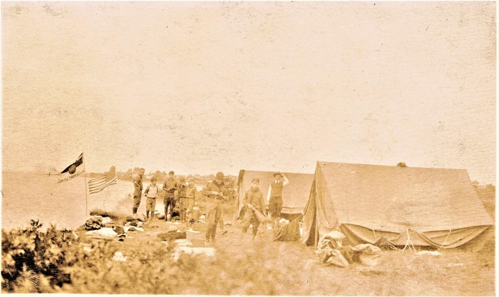 Easton HSE M17 1925 Boy Scouts camping Stratford