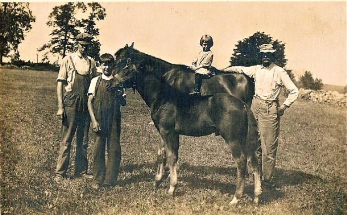 Ralph, George, Laurence & Ambrose Marsh