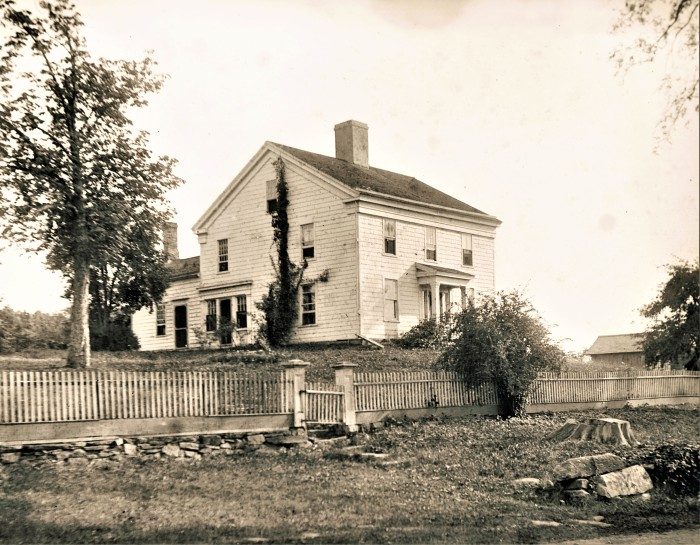 Easton HSE House 120 Rev James Johnson c.1760 211 Center RD