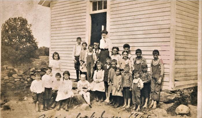 Easton HSE S110 Yellow School names 1906